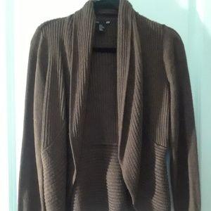 H&M Brown cardigan